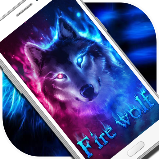 neon wolf live wallpaper apl di google play