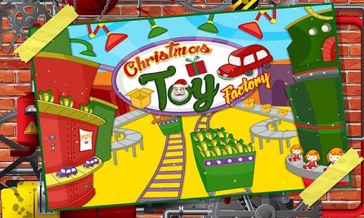 Santa's Christmas Toys Factory - náhled