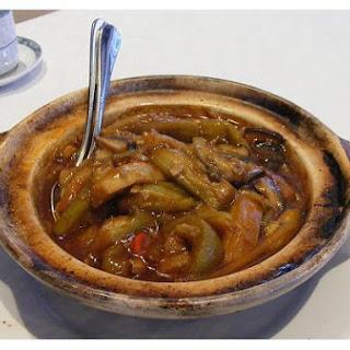 Aubergine, Szechuan Style