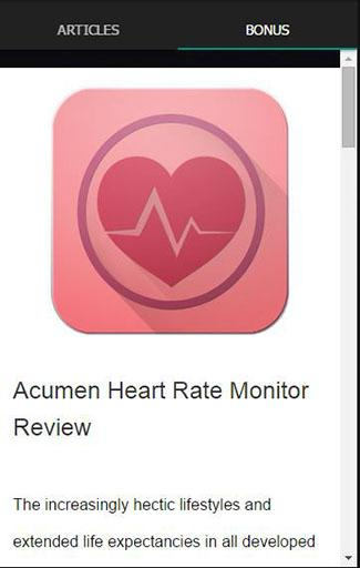 Instant Heart Rate Monitor Tip- screenshot