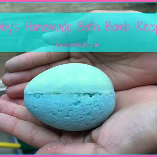 Abby's Homemade Bath Bomb.