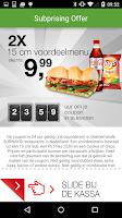 Screenshot of Subprise – Subway Nederland
