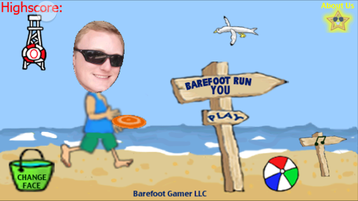 Barefoot Run YOU-YouStarGames™