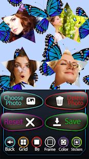 butterfly fotografie koláž - náhled