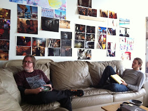 Photo: Chris and Pete chilling