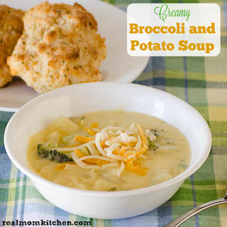 Creamy Broccoli and Potato Soup and Deals to Meals