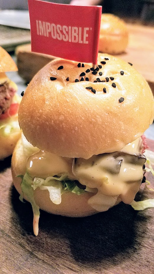 Impossible Burger comes to Portland - meat from plants, a vegan plant based burger to replace meat. Imperial will serve the burger with smoked mushrooms, beer cheese sauce, bread & butter pickles, tomato, and Imperial secret sauce on a housemade brioche bun.