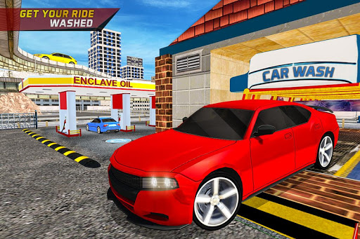Download Gas Car Station Services Highway Car Driver On Pc Mac