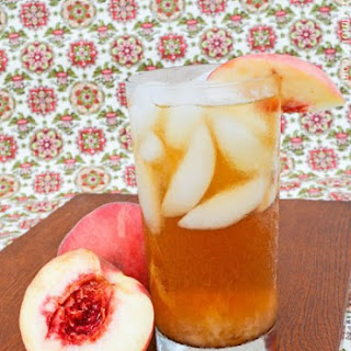 Ginger Peach Sun Tea