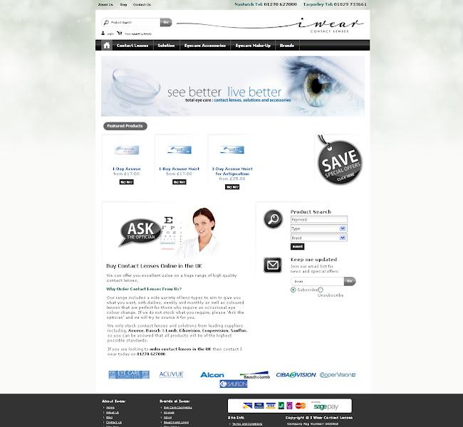 Photo: Iwear Contact Lenses http://www.iwearcontactlenses.co.uk/