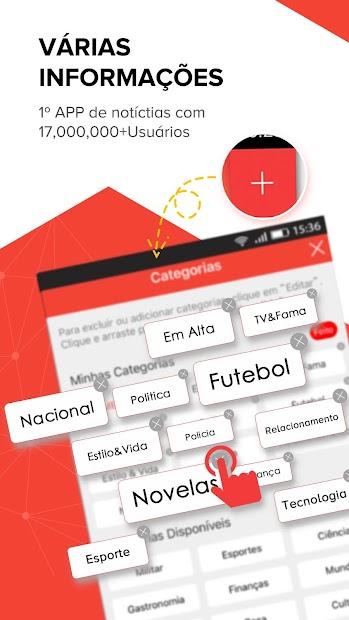 Central das Notícias- Esporte, fofocas dos famosos screenshot 6