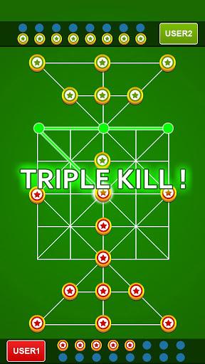 Bead 16 - Tiger Trap ( sholo guti ) Board Game ud83eudde0 1.05 screenshots 11