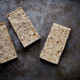 No-Bake Toasted Coconut, Date, and Nut Bars.