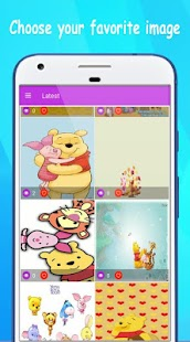 The pooh wallpapers hd android apps on google play the pooh wallpapers hd screenshot thumbnail voltagebd Gallery