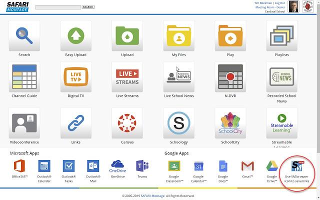 SAFARI Montage Chrome Extension