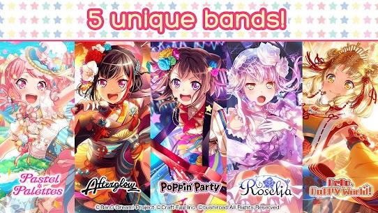 BanG Dream! Girls Band Party! Mod Apk 4.5.0 (Menu Mod + God Mode) 3
