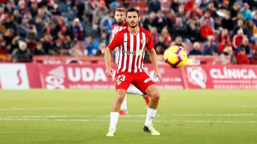 Joaquín Arzura causa baja en el Almería.