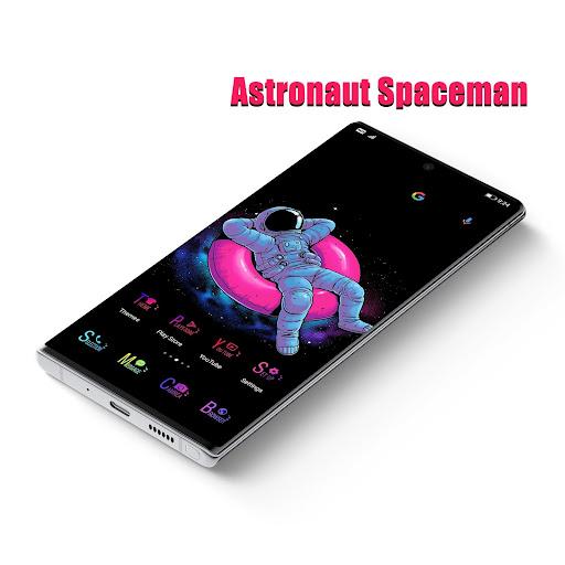 astronaut spaceman emui 10/9/8/5 theme screenshot 1