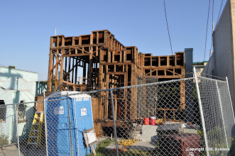 Photo: Traylor residence after demo.