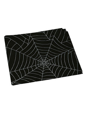 Duk, spindelnät