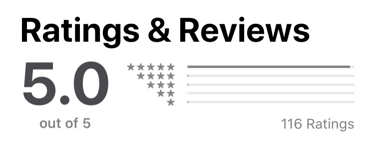 5 star 116 leader assistant podcast apple ratings