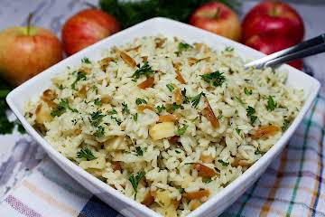 Apple Almond Rice