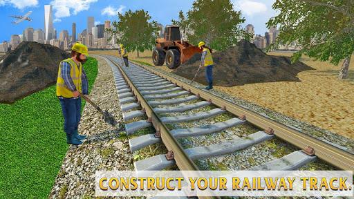 Train Station Construction Railway Apk 2