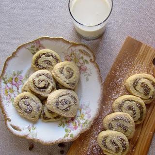Pistachio Rose Water Cookies.