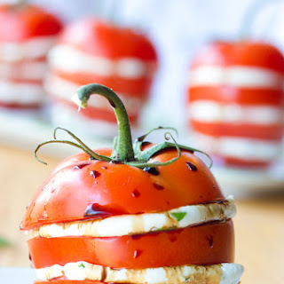 Stacked Tomato Salad