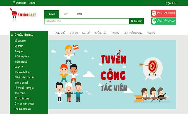 CÔNG CỤ ĐẶT HÀNG NHANH TAO BAO, TRUNG QUỐC