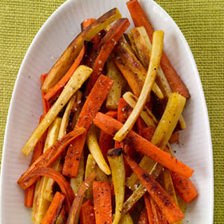 Spice-Roasted Carrots and Parsnips