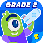2nd Grade Math: Fun Kids Games - Zapzapmath Home icon