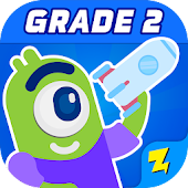 2nd Grade Math - Zapzapmath Home Educational Games icon