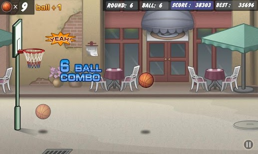 Basketball Shoot Screenshot