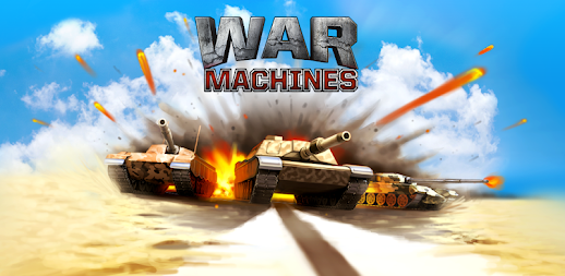 War Machines: Free Multiplayer Tank Shooting Games APK