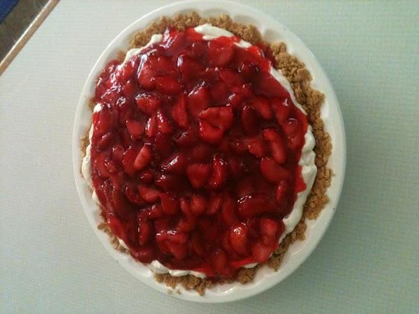 Karon's Summer Strawberry Cheesecake Recipe