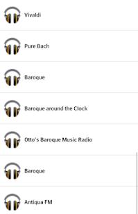 Baroque Radio - náhled