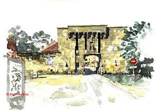 Photo: Flavigny Gate House