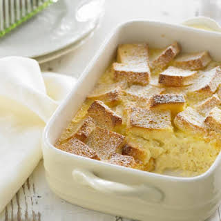 Gluten Free Bread and Butter Pudding.