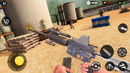 Real Commando Secret Mission: Army Shooting Games 1.0.4 screenshots 7