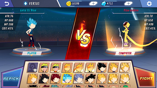 Stick Shadow Fighter – Supreme Dragon Warriors Apk Download For Android and Iphone 5