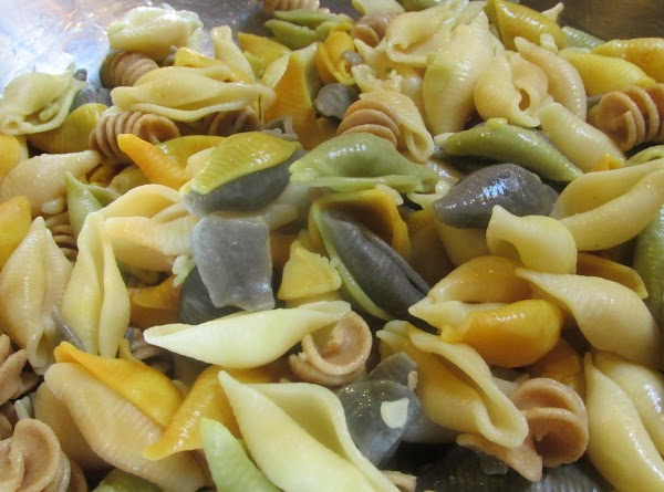 Cook pasta according to package directions, but by 2-3 minutes LESS FOR THE AL...