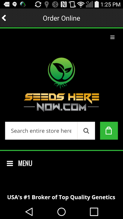 SeedsHereNow- screenshot