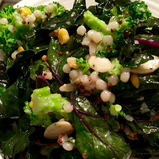 Warm Kale, Broccoli, & Harvest Grain Salad