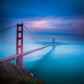 Golden gate bridge, Ca, USA by Rechard Sniper - Buildings & Architecture Bridges & Suspended Structures
