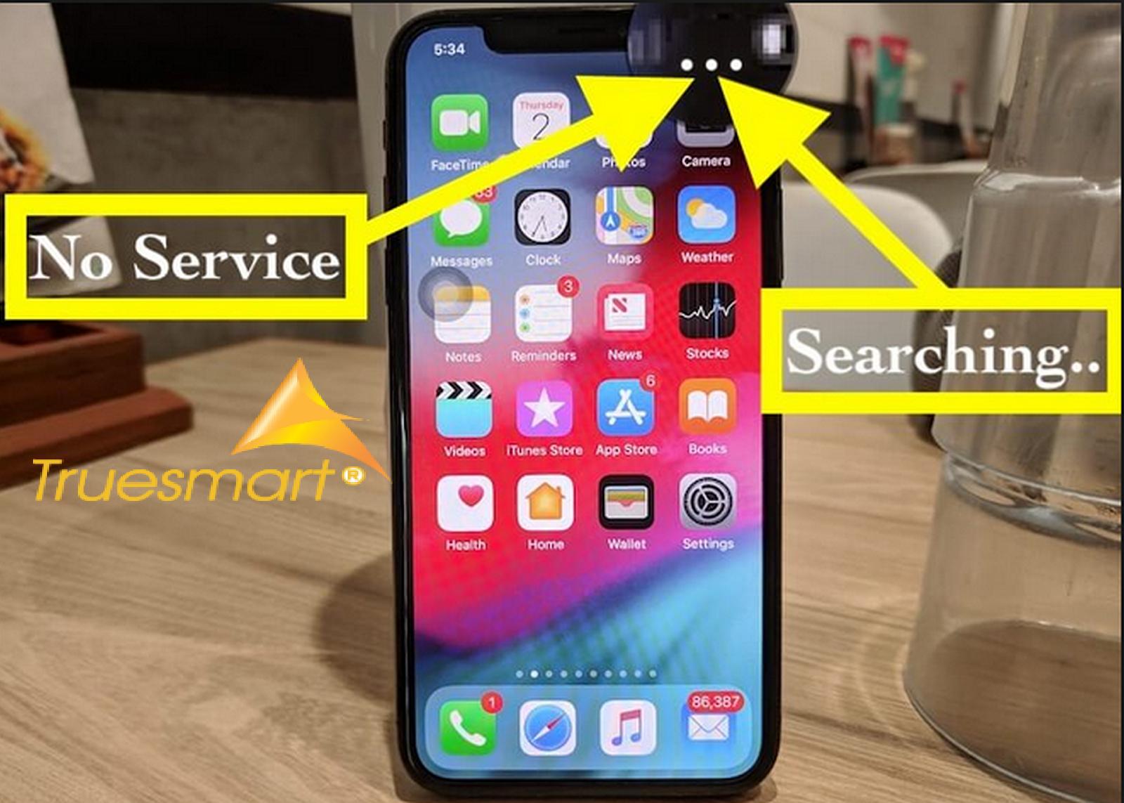 Sửa lỗi iPhone Xs bị mất sóng lấy ngay