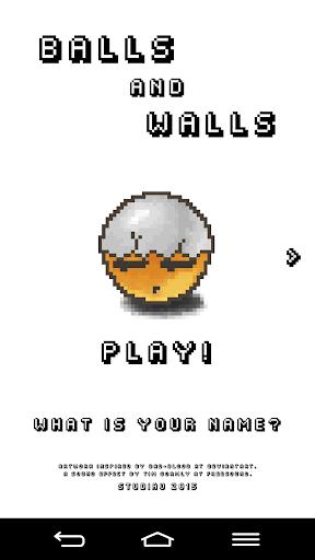 BALLS AND WALLS
