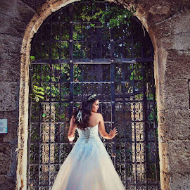 Bride  by SOTIRIOS SARAFIS - Wedding Bride ( photooftheday, bride, wedding dress, couple, wedding photographer, wedding photography, pose, portraits, weddings, wedding day, photo, photoshop, couples, portrait, photos, photographers, photograph, photographs, photographer, wedding, photography, photoshoot )