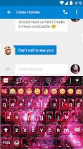 Space Dust Emoji Keyboard -Gif - screenshot thumbnail 02