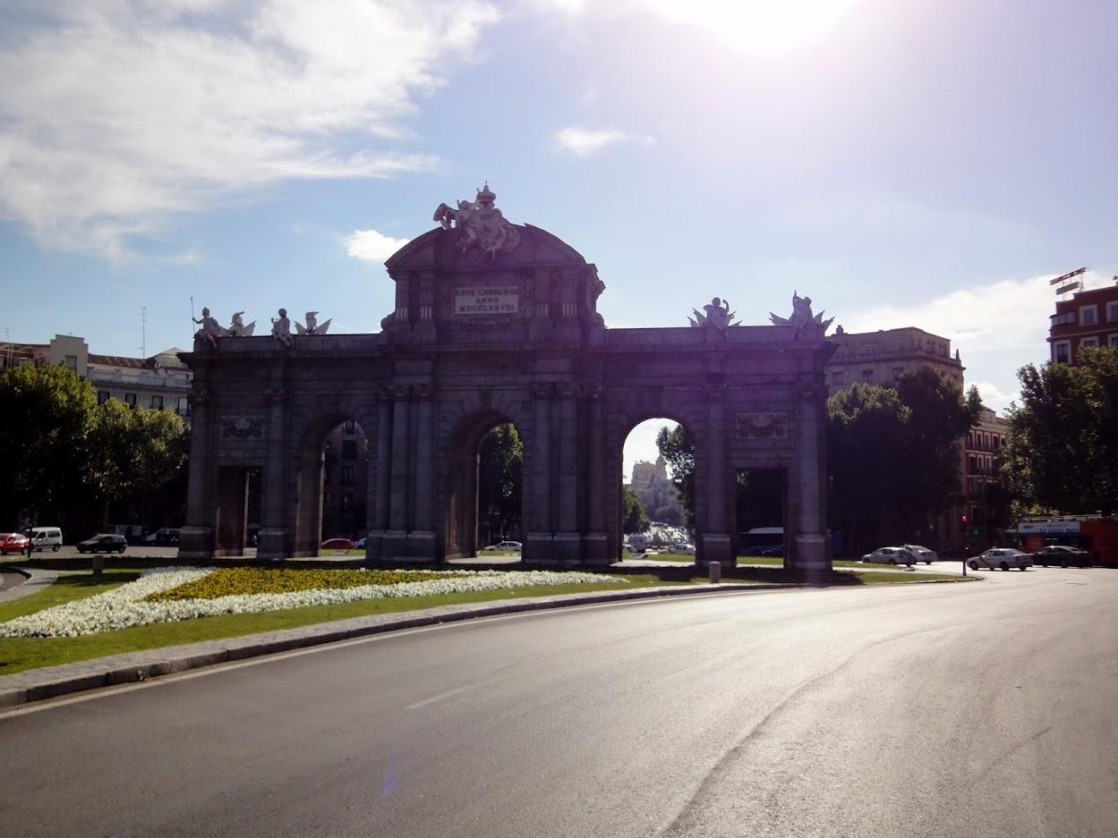 Porte Alcala à Madrid